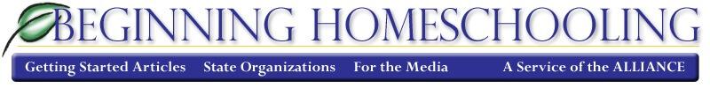 beginning homeschooling logo